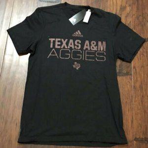 Adidas Texas A&M Aggies Amplifier Black Shirt